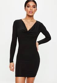 black bodycon dress bodycon dresses tight dresses fitted dresses missguided