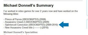 splinter cell conviction coming to the ps3 it seems very likely