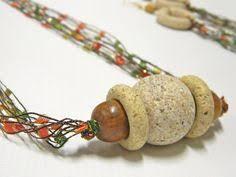ladder ribbon crochet ladder ribbon necklace kit with by threadheadzjewelry