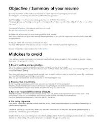 Exles Of Resumes Resume Good Objective Statements For - exles of objective statements on resumes statement for resume