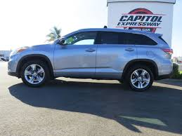 toyota highlander 2015 2015 used toyota highlander limited at capitol expressway used car