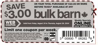 Bulk Barn Nl Savings Guru 2014 08 10