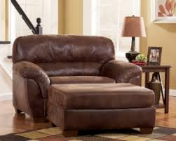 Ottoman With Chair Leather Chair And A Half With Ottoman Foter