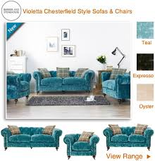 teal chesterfield sofa velvet teal chesterfield style buttoned back sofa and chairs