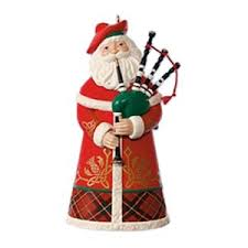 2017 santas around the world scotland hallmark club ornament