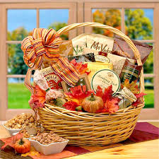 thanksgiving gift baskets harvest snacks fall gift basket