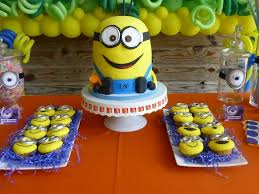 minions birthday party ideas photo 10 of 39 catch my party