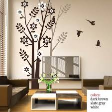 wall decal for living room with cherry blossoms theme tree wall full size of living roomliving room wall decal quotes cool features 2017 battoo wall wall