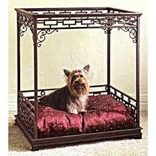 Pet Canopy Bed Asian Inspired Canopy Bed
