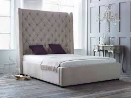 awe inspiring tall upholstered beds that will enhance your bedroom