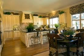 custom kitchen shades with valance and matching chair covers