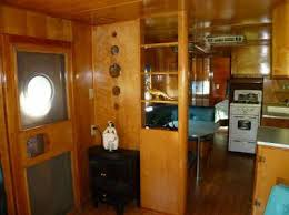 interior of mobile homes vintage mobile home series 1953 silver