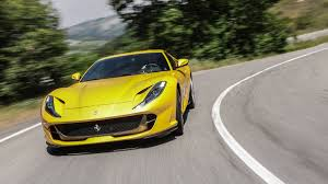 newest supercar 812 superfast we drive s newest v12 supercar