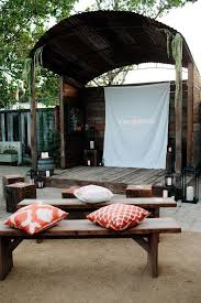 Backyard Outdoor Theater by 36 Best Outdoor Movie Night Images On Pinterest Outdoor Movie