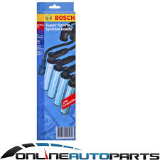 bosch ignition spark plug lead set magna te tf th tj tl tw 3 0l