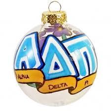 small delta gamma ornament fmh collectibles