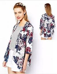 trendy blouses 2018 wholesale tassels chiffon blouse open black kimono