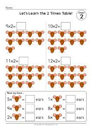 2 x tables worksheet counting in 2s primary teaching resources and printables sparklebox