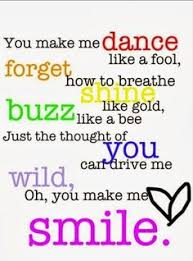 You Make Me Smile Meme - 3 song quote thing s that make me smile pinterest song