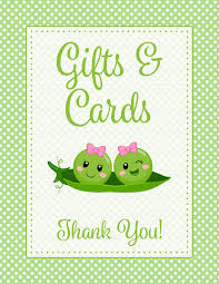 baby shower gift list peas in a pod baby shower theme for baby