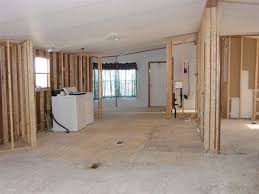 interior of mobile homes removing walls in a mobile home