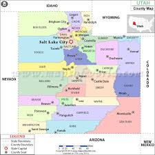 map usa utah utah county map utah counties