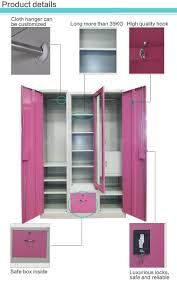 Almirah Design by 3 Door Steel Clothes Storage Bedroom Almirah Design With Price
