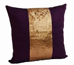 Cushion Covers For Sofa Pillows by Amazon Com Amore Beaute Handmade Purple Throw Pillows Covers In