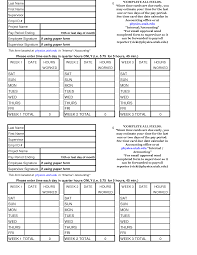 excel time card template time card template