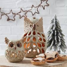christmas tree tea light holder