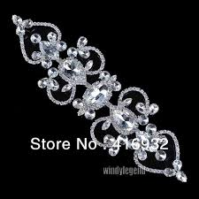 crystal trim for dressmaking rhinestone applique luxury