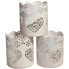 laser cut wedding tea light holders bundle 3 pack hobbycraft