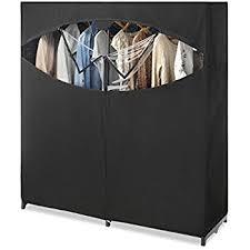 amazon com whitmor extra wide clothes closet 60 u201d home u0026 kitchen