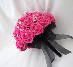 wedding flowers pink wedding flowers hot pink wedding flowers