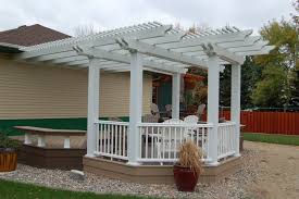Gazebo Or Pergola by Privacy U0026 Shade Pergolas Gazebos Fargo Moorhead