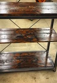 reclaimed wood industrial entertainment center milwaukee area
