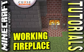 minecraft ps4 working fireplace how to tutorial ps3
