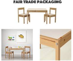 childrens table and 2 chairs ikea latt children s table 2 chairs wooden pine solid wood kids
