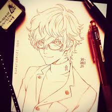 persona 5 pencil drawing sara fabrizi on patreon