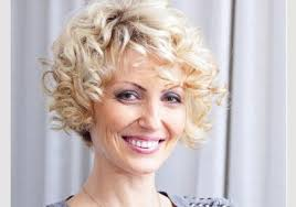 short hairstyles for older women with curly hair hairstyles