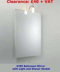 Bathroom Light Shaver Socket Led Bathroom Mirror With Shaver Socket Shaver Led Contemporary