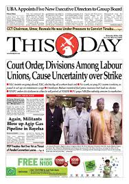 wednesday 19th july 2017 by thisday newspapers ltd issuu