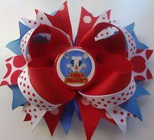 mickey mouse hair bow mickey mouse bow hair accessories for ebay