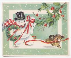pretty looking vintage style christmas cards contemporary ideas dc