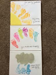 best 25 baby footprint crafts ideas on footprint