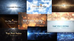 top 10 free intro templates