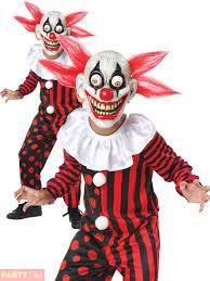 Halloween Clown Costumes by Child Scary Horror Clown Googly Eye Kids Halloween Fancy Dress