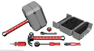 all the nerds thor hammer toolkit