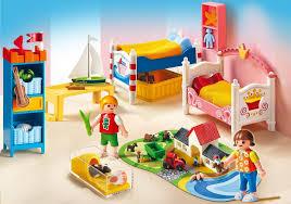 chambre playmobil playmobil dollhouse 5333 pas cher chambre des enfants avec lits