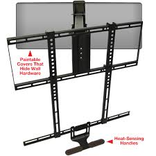 wall mount for 48 inch tv mantelmount pull down tv wall mount bracket w full motion for 48